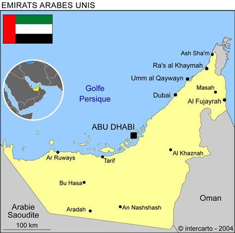 Carte Du Monde Dubai by Carte G 233 Ographique Et Touristique De Dubai Dubai