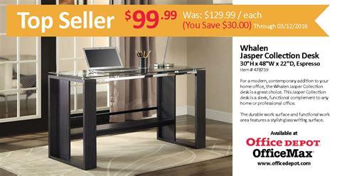 whalen jasper l desk espresso jasper desk office depot damescaucus com