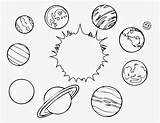 Coloring Space sketch template