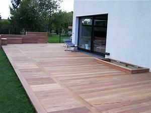 Bois Exotique Pour Terrasse : cr ation terrasse bois lille en ip 59 wood ~ Dailycaller-alerts.com Idées de Décoration