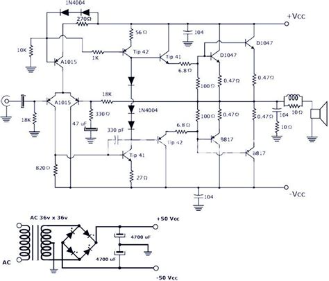 This Power Amplifier Circuit Project The