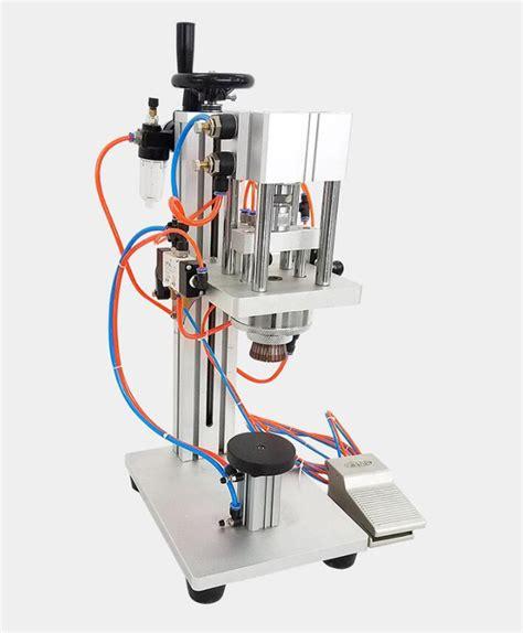 ytk ltx  pneumatic perfume vial bottle capping machine locking machine
