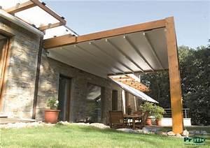 Construire Pergola Bois : pergola bois store r union ~ Preciouscoupons.com Idées de Décoration