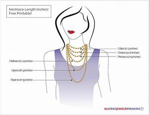 Necklace Length Chart Printable