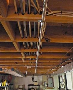 How To Run Electrical Wire Across Ceiling Joists
