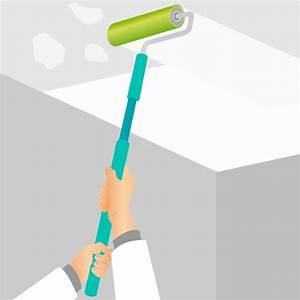 Peindre Un Plafond Facilement : pr parer un plafond pour le peindre peinture ~ Premium-room.com Idées de Décoration