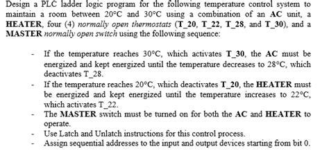 Which Of The Following Was Used To Decorate Islamic - solved design a plc ladder logic program for the followin