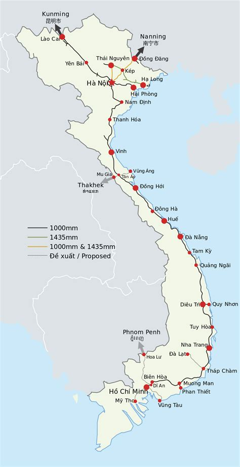 Ģeogrāfiskā karte - Vjetnama - 1,000 x 1,951 Pikselis ...