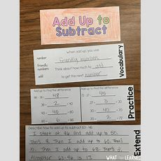 Models & Strategies For Twodigit Addition & Subtraction