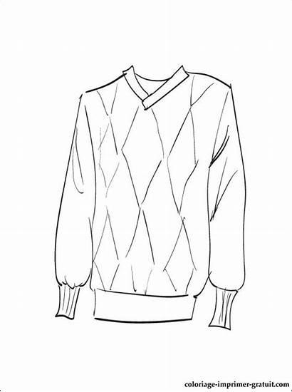Colorear Colorare Dibujo Coloriage Disegni Dibujos Sweater