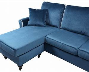 traditional small space velvet sectional sofa with With hayden sectional sofa with reversible chaise