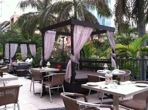 outdoor seating restaurant seating and restaurant on