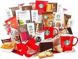 Starry Starry Starbucks Coffee Gift Basket