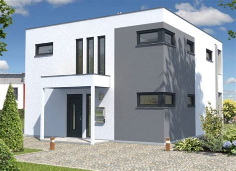 Weiß Graue by Kubus 126 Style Ihr Town Country Massivhaus