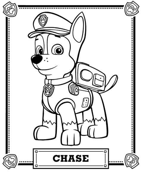 Top 10 PAW Patrol Coloring Pages Paw patrol coloring
