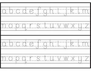 image gallery tracing letters With alphabet letters to trace