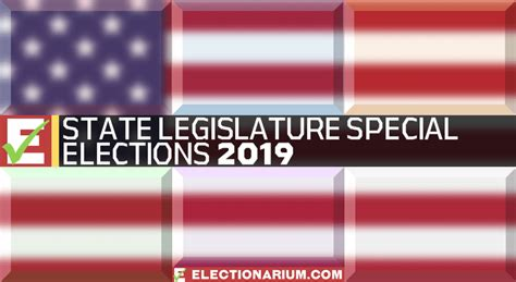 state legislature special elections election results electionarium