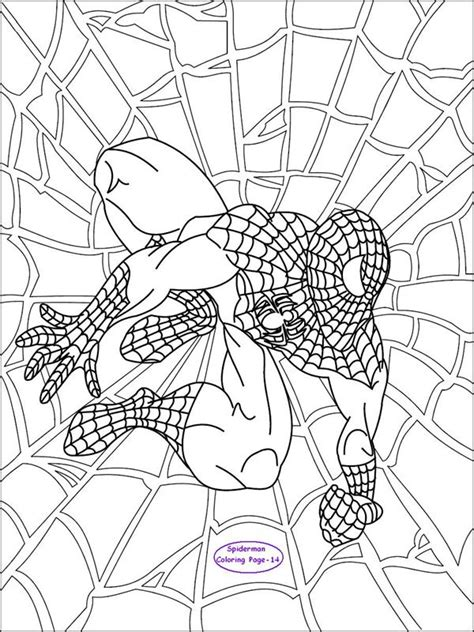 coloring pages spiderman coloring page  kids  kids