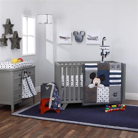 mickey mouse crib set hello world mickey mouse collection 4pc crib bedding set