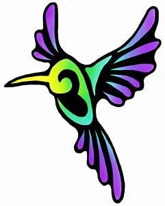 Hummingbird Tribal Drawings | www.imgkid.com - The Image ...