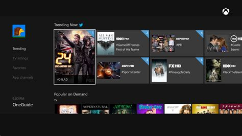 xbox one getting hbo go vine showtime anytime comedy central and dozens more afterdawn
