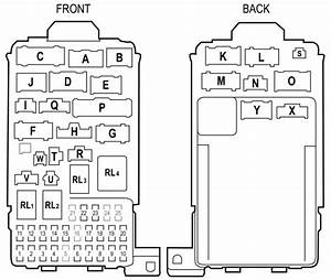 Honda Element Fuse Box Diagram