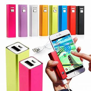 2600mah Usb Portable External Backup Battery Charger Power