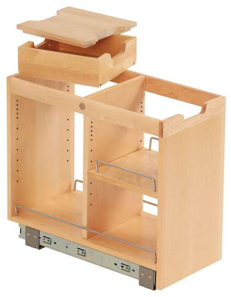 kitchen base cabinet organizers ornamental mouldings findit birch base cabinet organizer 5106