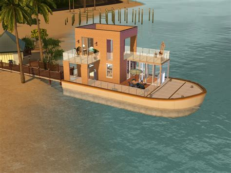 Houseboats Sims 3 by Houseboats For Sims 3 At My Sim Realty