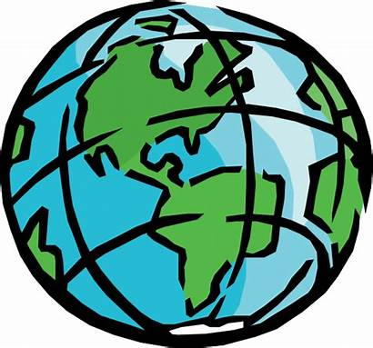 Earth Clip Clipart Clker Geography Svg Vector