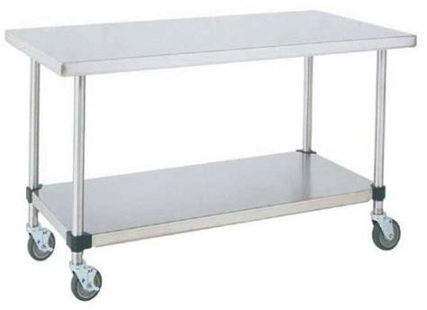 """Metro MWT307FS, 30"""" x 72"""" Work Table, All Stainless Steel"""