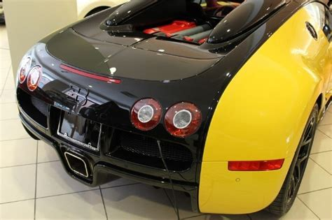 Bumblebee Coloured Bugatti Veyron Grand Sport For Sale In