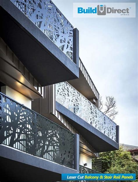 pin  builddirect africa  laser cut balcony stair