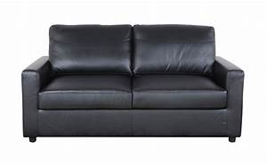 black bonded leather sleeper pull out sofa and bed ebay With bonded leather sofa bed
