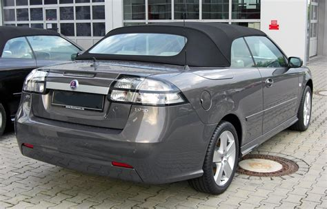 saab 93 cabrio bestand saab 9 3 cabrio 1 9 tid facelift 20090706 rear jpg