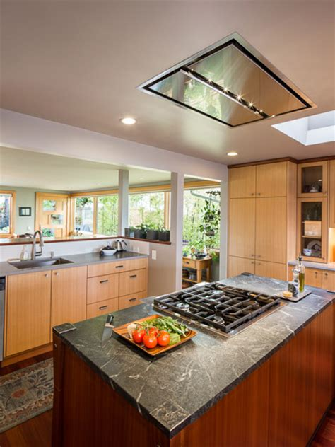 kitchen ventilation ideas flush ceiling mount range a great alternative for