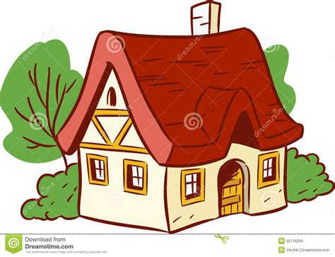 Small-cartoon-house-illustration-shows-done-style-isolated
