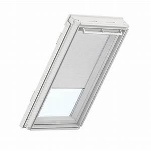 Velux White Manual Room Darkening Skylight Blinds For Gpu