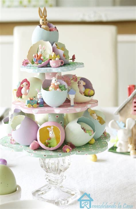 Easter Decorating Ideas - 21 lovely diy centerpieces that will bring color to your