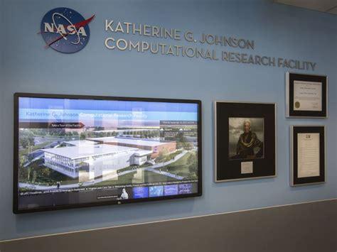 nasa langley building named  katherine johnson