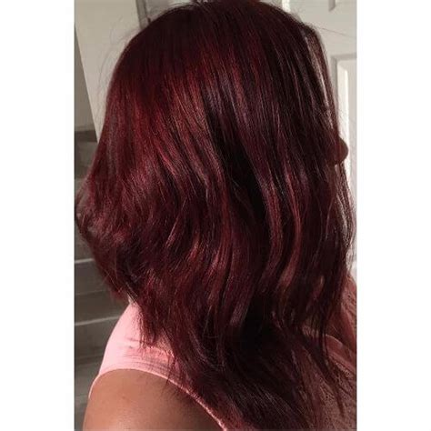 vivid burgundy hair color ideas   fall hair