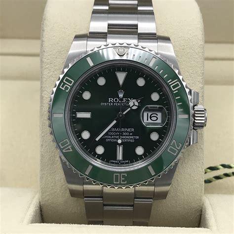 Rolex Submariner 116610LV Green Hulk With Box Random ...