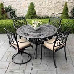 furniture rod iron patio set patio design ideas wrought