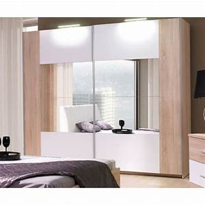 Armoire Chambre A Coucher Glory Naturel 2M Achat