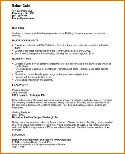 Exles Of Well Written Resumes by Exle Of A Well Written Resume Resume Format Exles Best Resume 1 Dazzling Design Ideas How