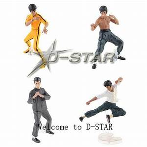 Kung Fu Figuren : free shipping 6 sets cool bruce lee kung fu figure set pvc action figures collection ~ Sanjose-hotels-ca.com Haus und Dekorationen