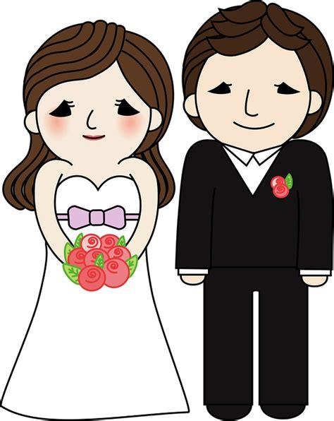 matrimonio sposo sposa grafica vettoriale gratuita su