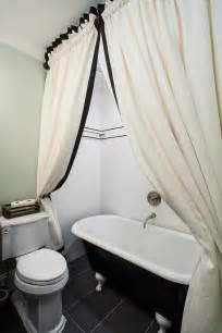 bathroom curtain ideas for shower fantastic clawfoot tub shower curtain ideas decorating ideas gallery in bathroom contemporary