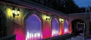 Exterior led flood lights building decorative linear wall