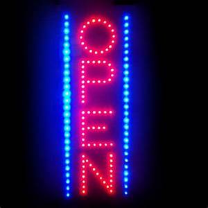 Neonetics 5OVLED Open Vertical LED Neon Sign